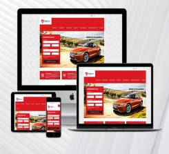 Rent A Car Web Package Red v3.0